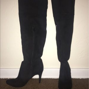 Heeled Knee-high boots