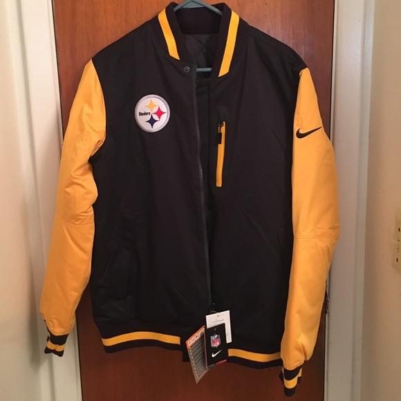the latest 43eba 88079 SALE!! Reversible Pittsburgh Steelers Jacket✨