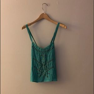Urban Outfitters boho teal top