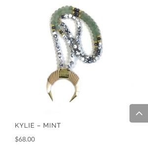 Kristalize Long Necklace ~ Kylie