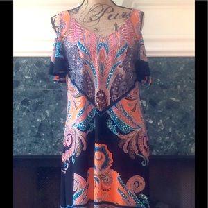 NWT MSK ART DECO PRINT DRESS