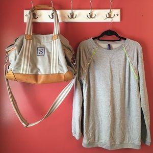 Seraphine Sweaters - Seraphine Neon Detail Nursing Jumper