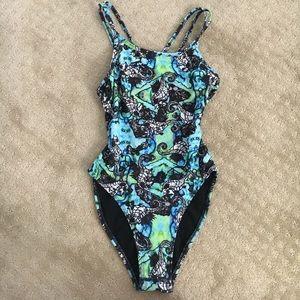 Jolyn Clothing Other - One-piece Jolyn W seahorse pattern