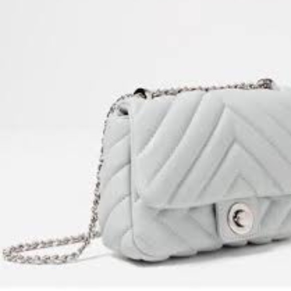 d743712df5 NWT Zara Soft Quilted Mini Crossbody Bag