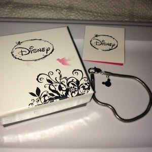 """Disney Jewelry - Disney Stainless Steel Charm Bracelet - 7 3/4"""""""
