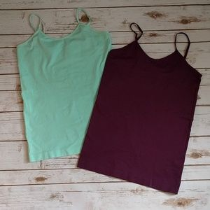 Tops - Two cami NWOT