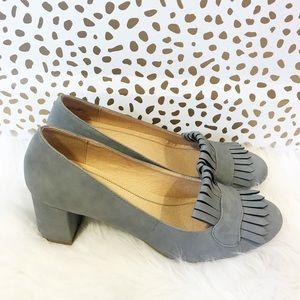 SALE New Chinese Laundry Pale Blue Kiltie Heels