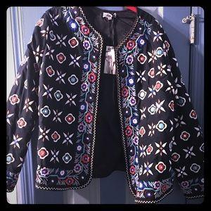 Alice & You Jackets & Blazers - Alice & You multi coloured spring jacket
