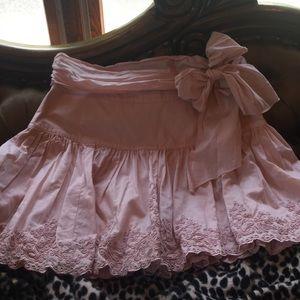 Ted Baker Dresses & Skirts - Ted Baker drop waist pink flare skirt