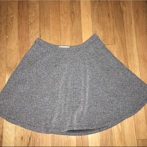 Abercrombie & Fitch Dresses & Skirts - gray abercrombie circle skirt