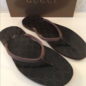 Gucci Other - ⭐️GUCCI MENS SANDALS 💯AUTHENTIC
