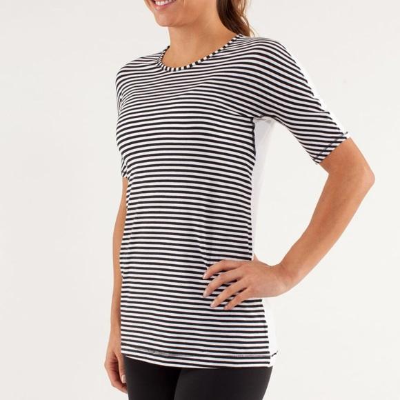 lululemon athletica Tops - Size 10 Lululemon Devotion Short Sleeve Shirt