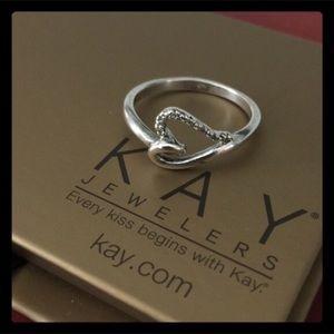 Kay Jewelers Jewelry - Kay Jewelers Diamond infinity Heart Ring