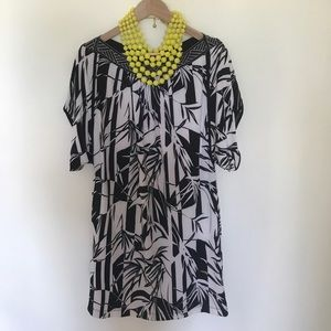 BCBG Dresses & Skirts - BCBG Tunic Dress sz S Tropical Print