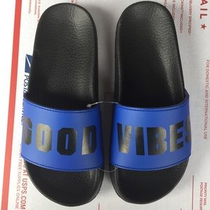 PINK Victoria's Secret Shoes - V.S. PINK Good Vibes sandals! NWT
