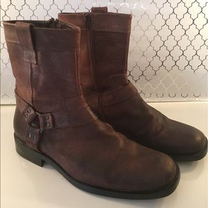 Kenneth Cole Reaction Other - ⭐️KENNETH COLE MENS LEATHER BOOTS 💯AUTHENTIC