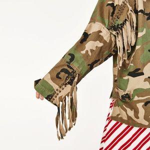 🆕 Zara Camouflage jacket