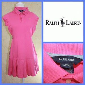 Ralph Lauren Other - Sale! Ralph Lauren Girls' Pleated Polo Dress