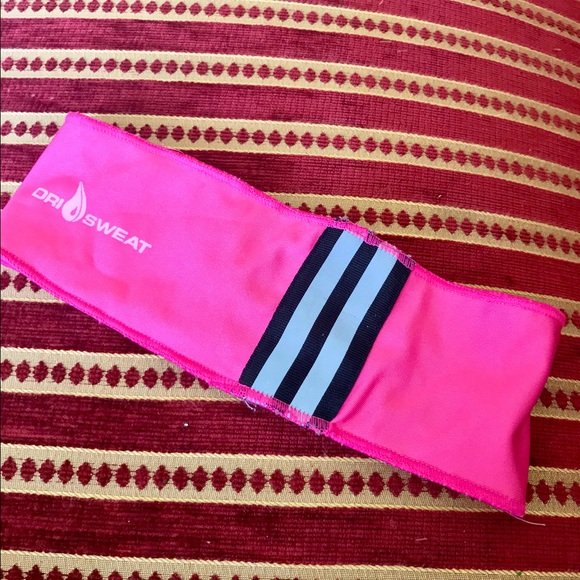 62 Off Adidas Accessories Workout Dry Sweat Hair Band