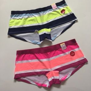 SO Other - (2) Cotton Boxy Boy Shorts Size Small