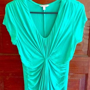Candie's Tops - Candie's Mint Green Rouched Top