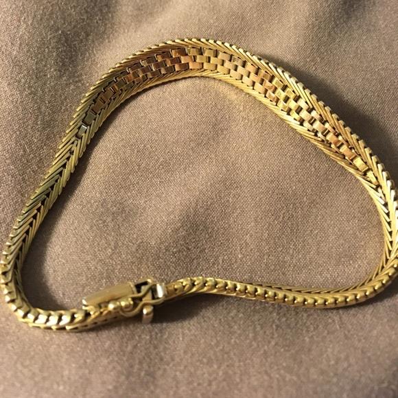 33% off Jewelry - Florentino 24 karat gold hand bracelet ...