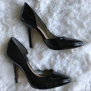BCBG Shoes - BCBG Jaze Patent D'orsay Pumps