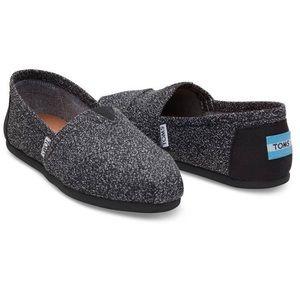 TOMS Shoes - Toms Black Marl Women's Classics