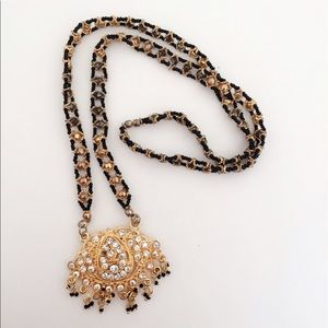 Jewelry - 25% off 💍 B19 Long Gold & Zircon Indian Pendent