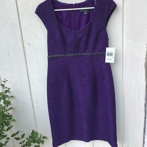 connected apparel Dresses & Skirts - Connected Apparel size 10 purple dress
