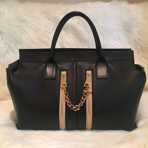 Gorgeous Authentic Chloe Zipper Tote!