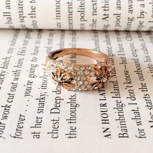 Jewelry - 25% off 💍 B21 Beautiful Gold Tone Zircon Ring