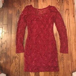Lipsy London Dresses & Skirts - *ONE DAY SALE* Lipsy London Sequin and Lace Dress