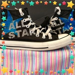 Converse Other - Youth All Star Converse High Tops Size 4