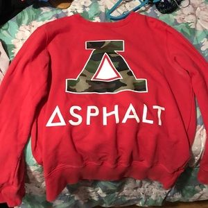 Asphalt Other - Asphalt red jacket