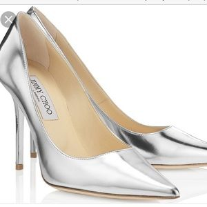 Jimmy Choo Shoes - Jimmy Choo Mirrored Patent Leather Pumps