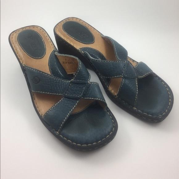 944bc181356b Born Shoes - Born sandals navy blue size 8 eur 39