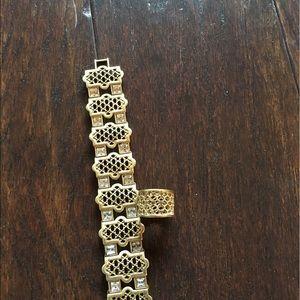 Lia Sophia Jewelry - Lia Sophia bracelet & ring Sz 5