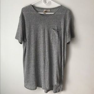 Urban Outfitters Other - Urban outfitters grey curved hem tee shirt