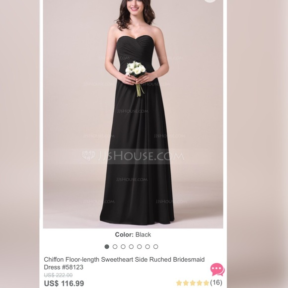 JJs House Dresses & Skirts - Long bridesmaid dress