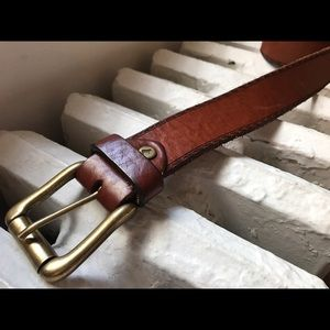 """Will Leather Goods Other - Will leather goods premium 38-40"""" rustic belt"""