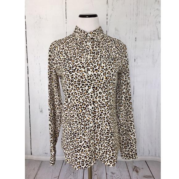 ff3268021d5c1f Equipment Tops - ✨Equipment Femme Silk Leopard Button Down Shirt