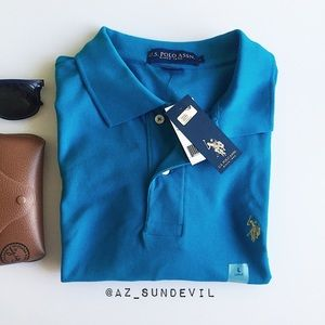U.S. Polo Assn. Other - Bright teal polo shirt