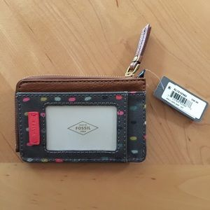 fossil keely card case