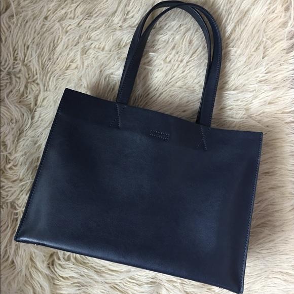 4a69406df455 Banana Republic Handbags - Leather Portfolio Tote