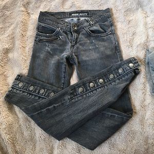 Miss Sixty Denim - Distressed Punk Jeans - Miss Sixty