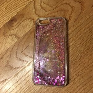 Other - Sparkly pink Iphone 6 phone case