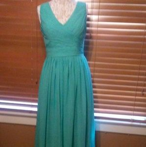 Dresses & Skirts - Blue green  turquoise long flowing dress
