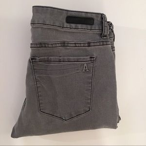 Articles of Society Gray Ankle Jeans