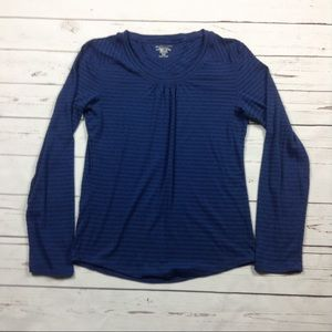 Exofficio Tops - Exofficio Dri-Release Navy Blue Shirt M